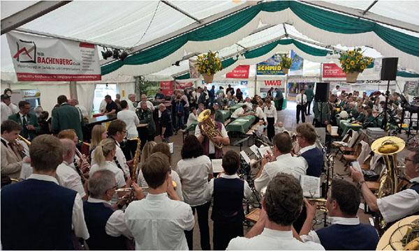 Schützenfest in Döttesfeld - feiern in familiärer Atmosphäre