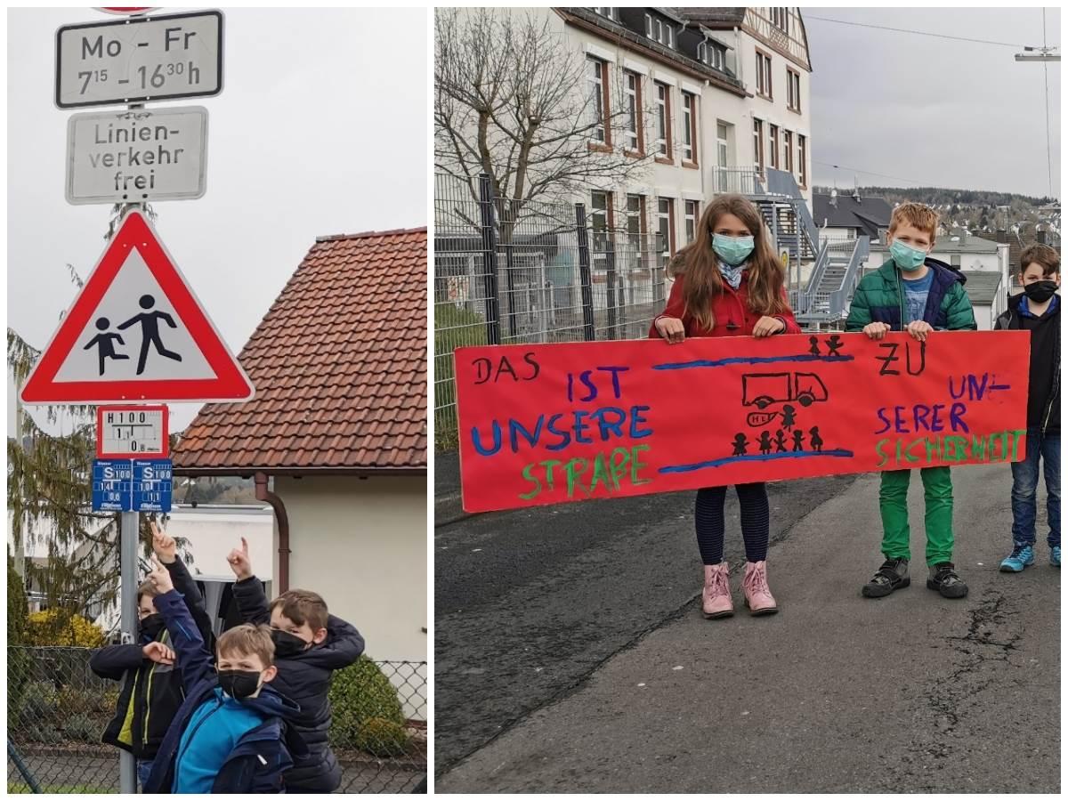 """Wissener Kita und Grundschule verärgert Verkehrssituation: """"Mittlerweile habe ich Angst"""""""