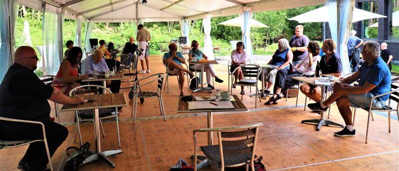 Gemeinsam wollen die inzwischen gut vernetzten Kulturschaffenden aus Montabaur und Umgebung die Krise bewältigen. Foto: privat
