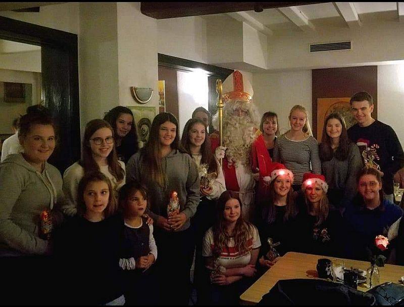 Weihnachtsfeier der Karnevalsgesellschaft Unkel