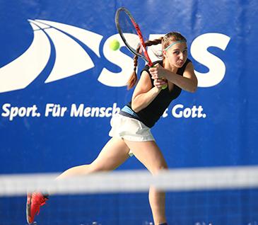 Weltklasse-Tennis auf der Glockenspitze in Altenkirchen