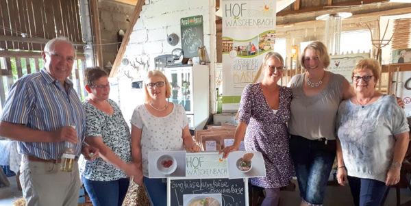 Landfrauen Altenkirchen genossen K�se und Wein