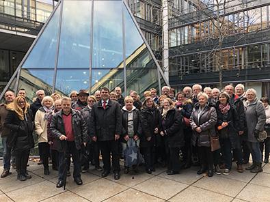 Sozialdemokraten aus dem Kreis Altenkirchen besuchten Landtag
