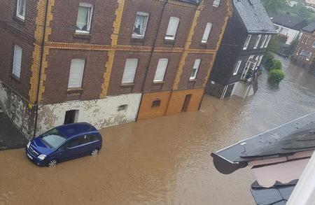 Enorme Unwetterschäden in Betzdorf und Kirchen