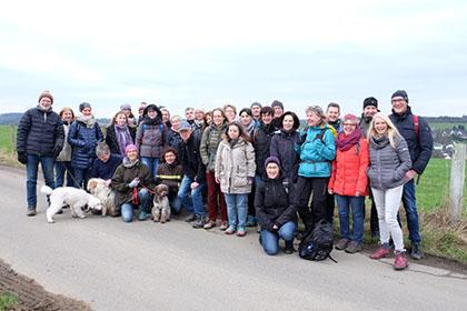 Lauftreff VfL Wehbach startete mit traditioneller Winterwanderung