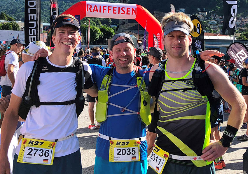 "Puderbacher finishten ""SKY Trail Run"" im Tessin"