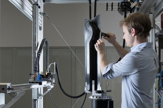 Optische Sensorik für den Leichtbau