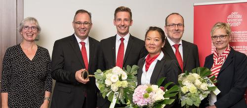 Drei neue Geschäftsstellenleiter bei der Sparkasse Westerwald-Sieg