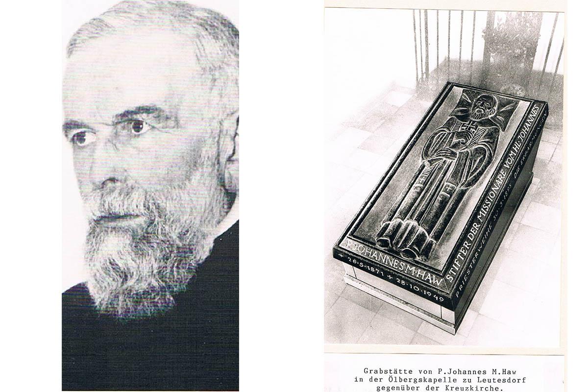 Pater Johannes Maria Haw wurde vor 150 Jahren geboren