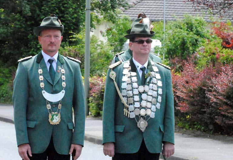 Schützenverein Leuzbach-Bergenhausen begrüßte viele Gäste
