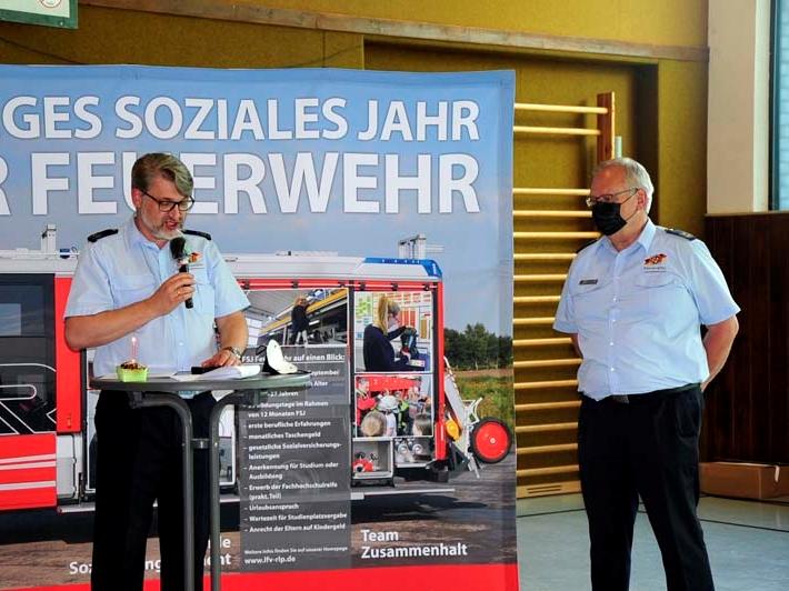 Ehrungen der Landesfeuerwehr in Katzwinkel: Bewusstsein für Ehrenamt stärken