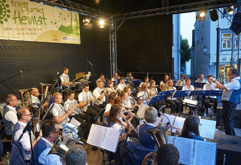 Limbacher Dorfmusikanten feiern veranstaltungsreiches Jubiläum