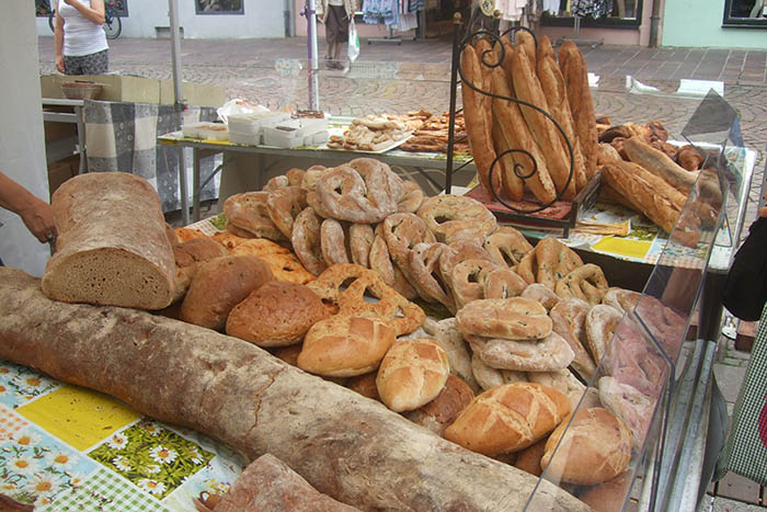 Kulinarischer Genussmarkt in Linz