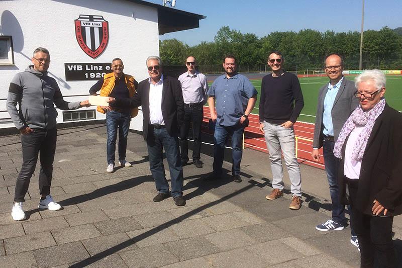 FWG Linz würdigt die Arbeit des VfB Linz
