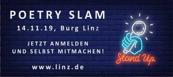 Open Poetry Slam in Linz