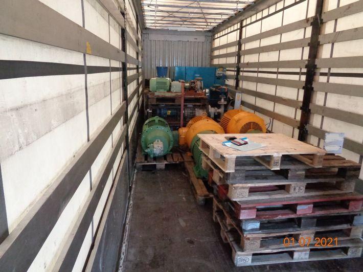 Sattelzug aus Südosteuropa aus dem Verkehr gezogen