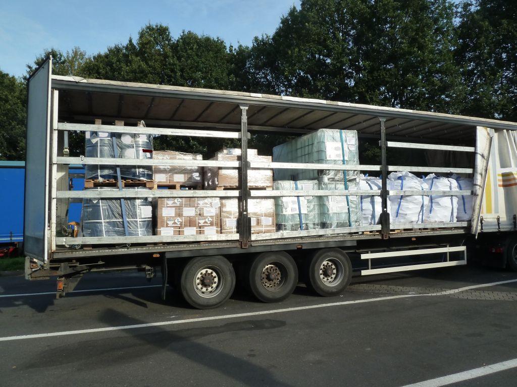Gefahrguttransport mit giftiger Fracht wurde stillgelegt