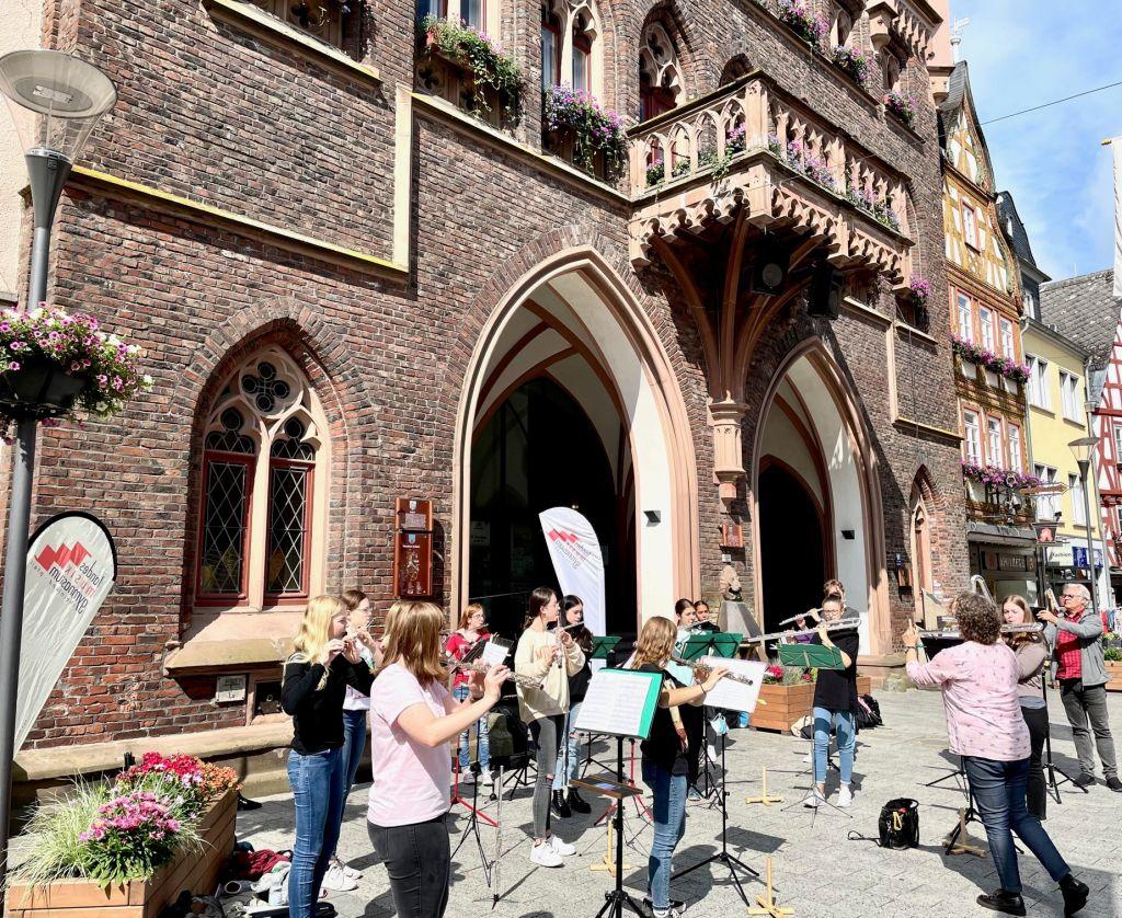 Landesmusikgymnasium Montabaur: Endlich wieder proben