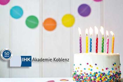 Jubiläumsveranstaltung der IHK Akademie in Betzdorf