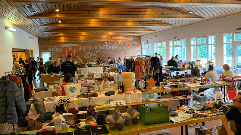 Hallen-Flohmarkt in Dernbach war ein voller Erfolg