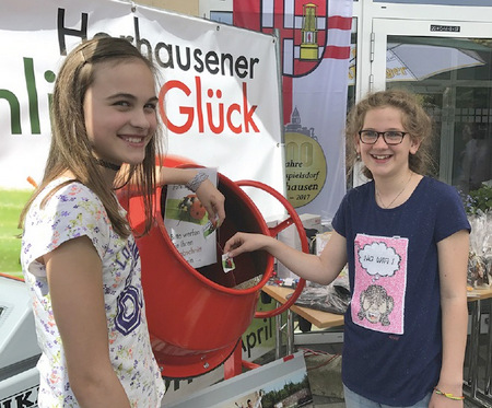 Horhausener �Fr�hlingsGl�ck�-Losaktion gestartet