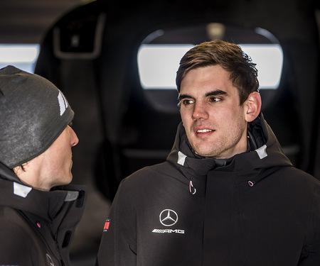 Luca Stolz aus Brachbach gelang ein erfolgreiches Nordschleifen-Comeback auf dem Nürburgring. (Fotos: Sportscode Images)