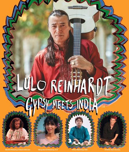 Das neue Lulo-Reinhardt-Projekt: Gypsy meets India