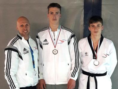 Zwei Medaillen auf Weltklasse-Turnier f�r Sporting-Taekwondo