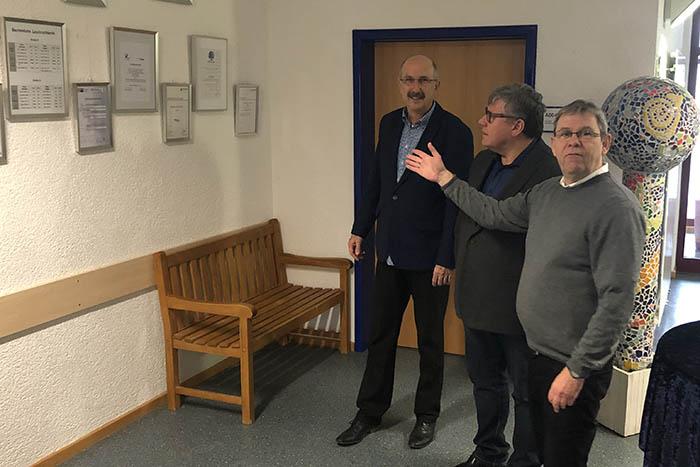 Mahlert besucht Realschule plus und Fachoberschule Asbach
