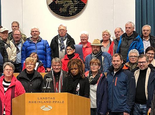 Kreis-SPD besuchte Mainzer Landtag