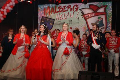 Malberg feierte rasante Prunksitzung