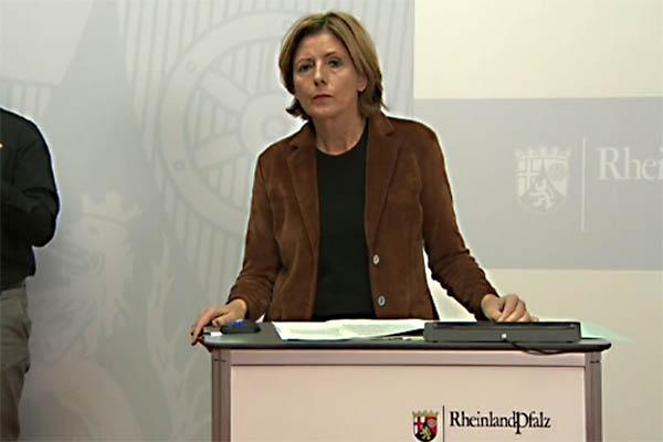 Pressekonferenz Malu Dreyer