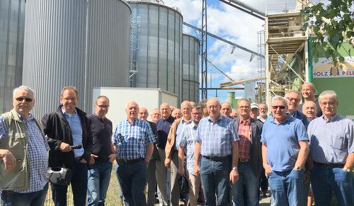 Die Evangelische Männerarbeit des Kirchenkreises Altenkirchen war zu Gast bei Mann Naturenergie in Langenbach bei Kirburg. (Foto: Veranstalter)