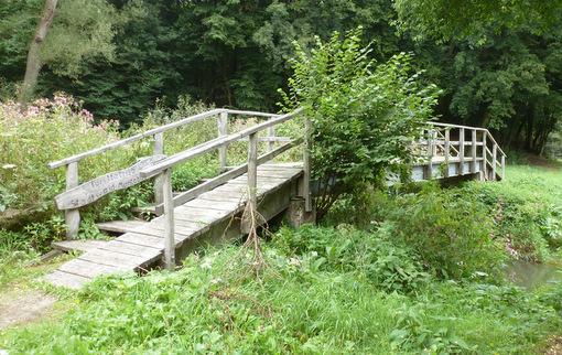 """Die """"Marauer Brücke"""" im Gelbachtal wird ab dem 8. Oktober für eine Woche gesperrt, da der Zugang barrierefrei hergestellt wird. (Bild: Ingenieurbüro Frings)"""