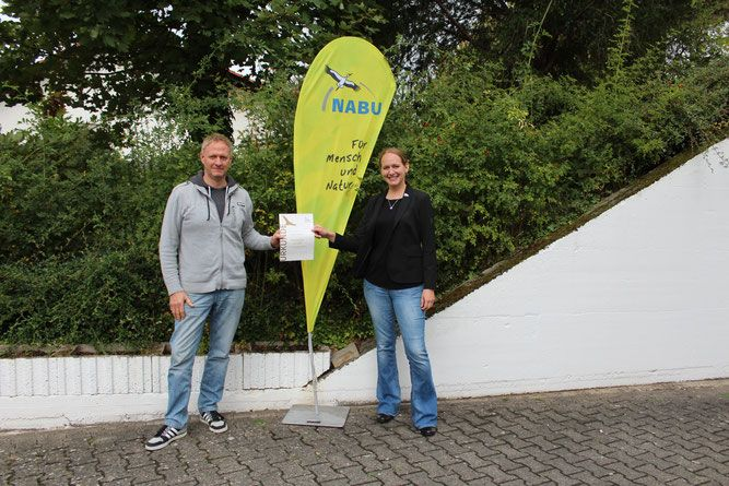 NABU Ehrennadel in Gold an Marcel Weidenfeller verliehen