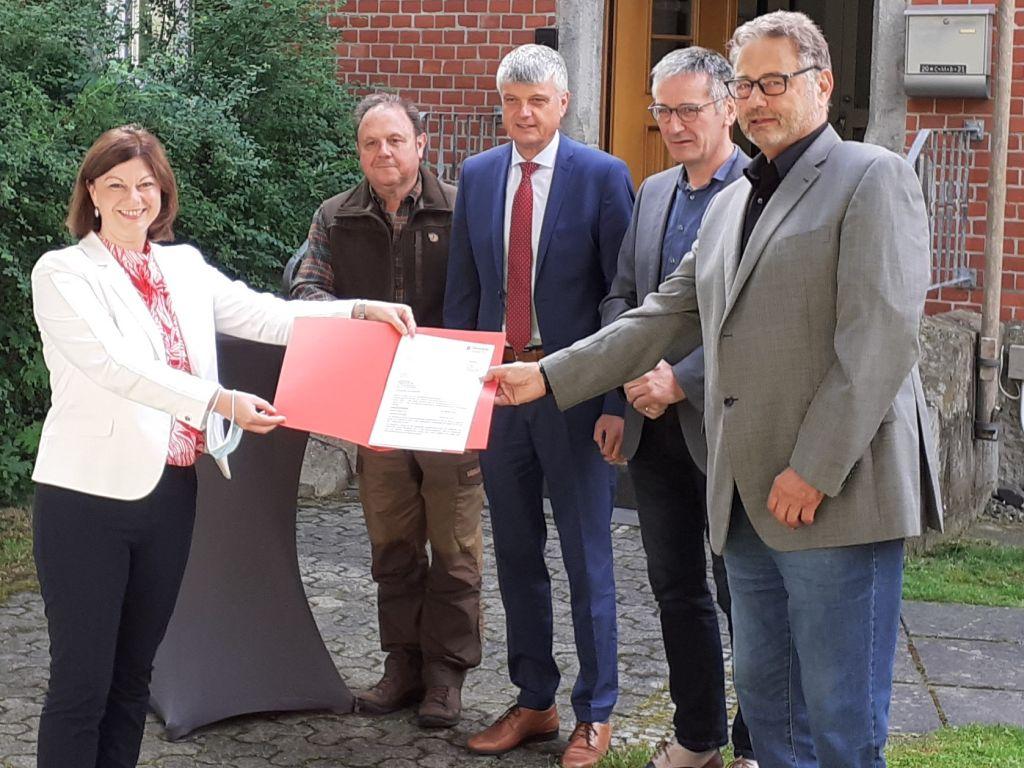 Marienrachdorf: Sechsstelliger Förderbescheid zum Kauf des Pfarrhauses