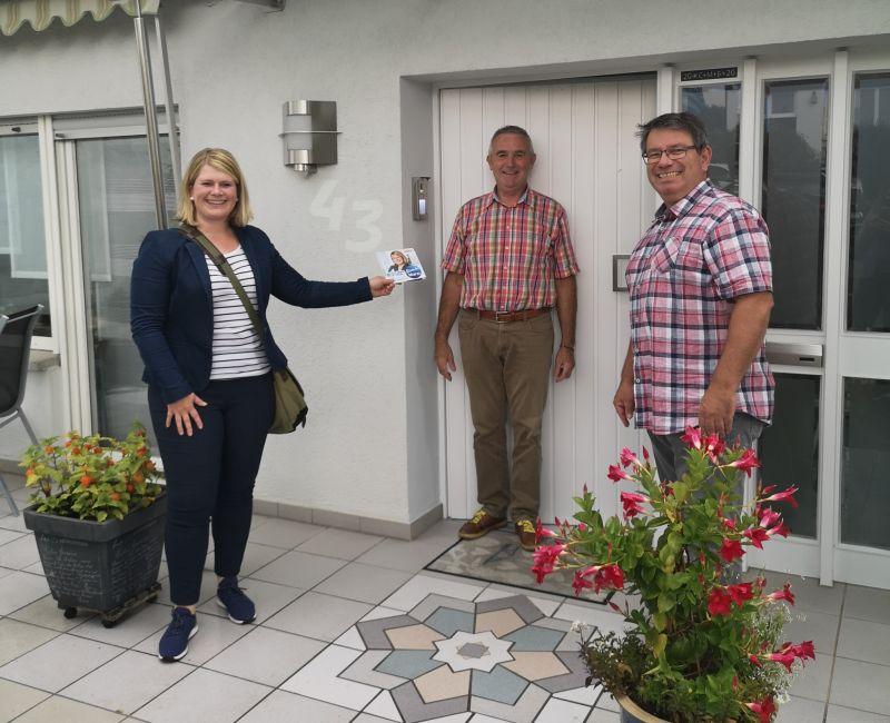 CDU-Bürgermeisterkandidatin startet mit 1.000-Türen-Tour