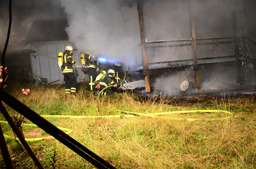 Brand in Mehrfamilienhaus in Maxsain mit hohem Schaden
