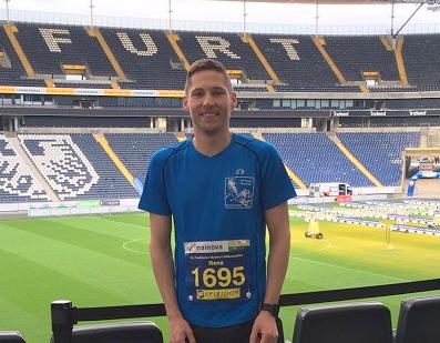 Rene Metzger mit pers�nlicher Bestzeit beim Frankfurter Halbmarathon