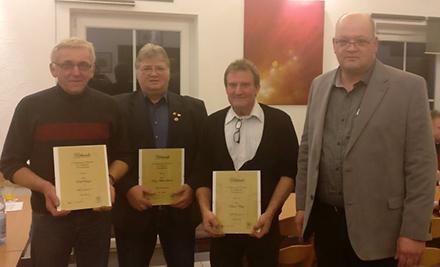 MGV Dünebusch hatte Jahresversammlung mit Wahlen und Ehrungen