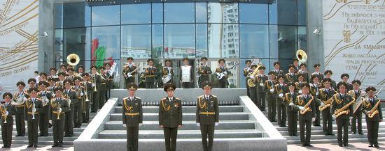 Experten sagen, das Minsker Orchester gehöre zu den zehn besten Militärorchestern weltweit. (Foto: Repräsentationsorchester der Armee aus Weißrussland/Minsk)