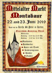 Mittelaltermarkt mit verkaufsoffenem Sonntag in Montabaur