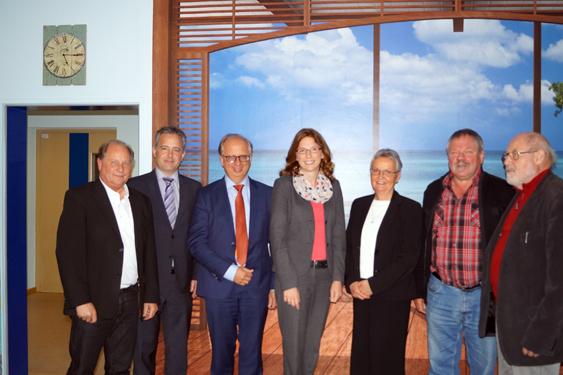 Gesundheitsministerin zu Besuch im Margaretha-Flesch-Haus