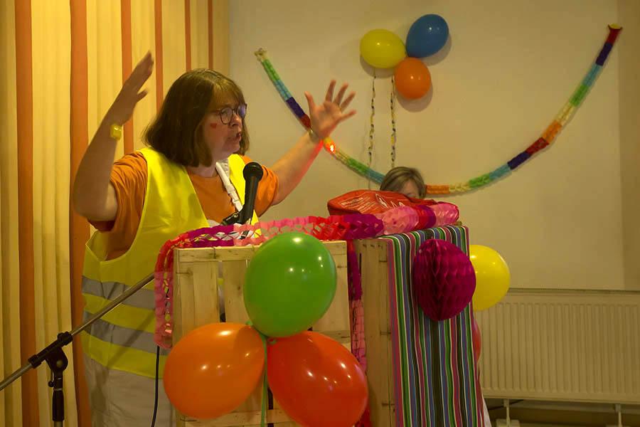 Clementinen jeck und prall feierten lustig Karneval