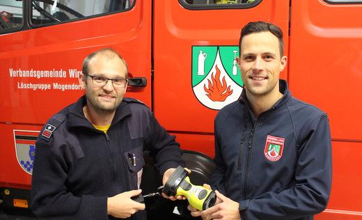 Feuerwehr Mogendorf erhält Wärmebildkamera