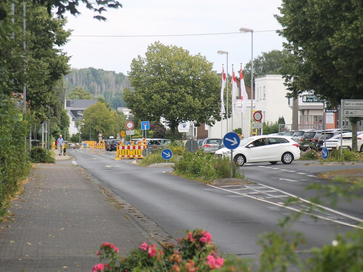 Montabaur: Sperrung Elgendorfer Straße