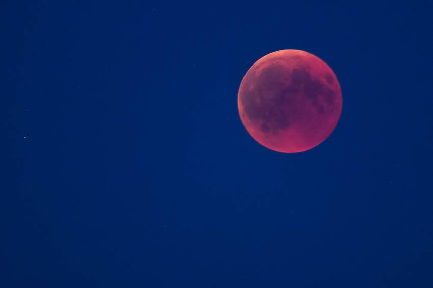In der Nacht von Dienstag, 7. auf Mittwoch, 8. April, kann der Mond in seiner vollen Schönheit bewundert werden. Foto: Wolfgang Tischler
