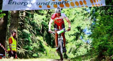 Mountainbike-Event auf der Waldsportanlage in Pracht-Wickhausen
