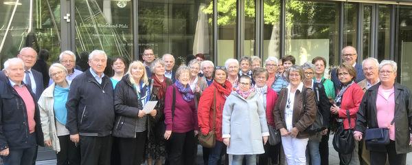 Kein garstig Lied: Kirchenchor Horhausen besuchte Mainz