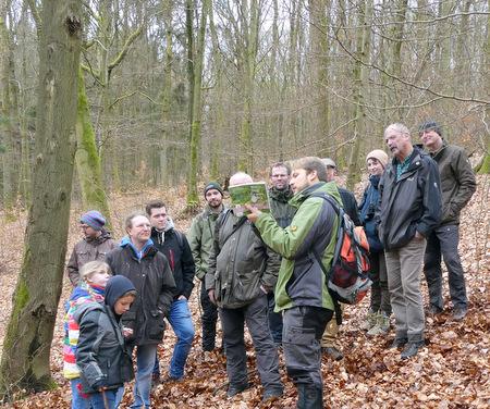 Den Trommlern des Waldes auf der Spur